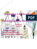 Heparina Exposicion