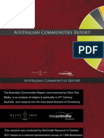 McCrindle Research Australian Communities Report Christianity and Church in the 21st Century
