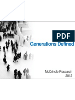 McCrindle Research Generations Defined