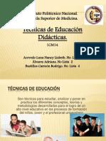 Presentación tecnicas de educación
