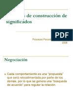 Procesos de Construccion de Significados