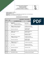 Cronograma de Actividades Mat v. I-2011