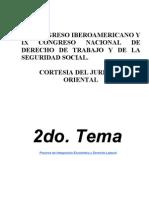 CONGRESO IBEROAMERICANO Y IX CONGRESO NACIONAL DE DERECHO DE TRABAJO Y DE LA SEGURIDAD SOCIAL