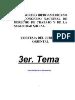 CONGRESO NACIONAL DE DERECHO DE TRABAJO Y DE LA SEGURIDAD SOCIAL
