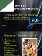 Visión Constructivista Dinámica Para La Enseñanza de Las