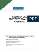 Resumen Proyecto Final de Carrera