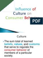 Culture and Consumer Behaviour