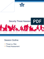 3 IATA Security Threat Assessment
