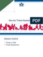 3 IATA Security Threat Assessment