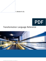 PC 910 Transformation Language Reference En
