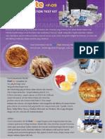 03-04-Food Contamination Test Kit ContFote F-02, F-09