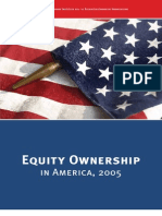 Equity Ownership in America 2005