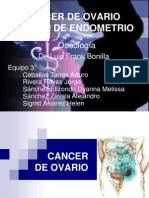 CA de Ovario y En Dome Trio