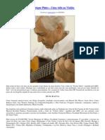 Pinto, Henrique- Uma vida ao Violão - Biografia e Artigos