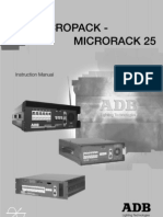 m3013-e Micropack 15 User Manuel