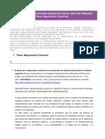 Indice Negociacion Colectiva Trabajo