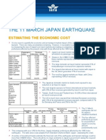 IATA Economic Briefing Japan Earthquake March 2011