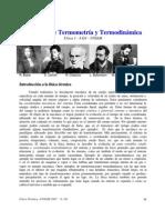 Resumen de Termometria y Termodinamica