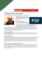 Alejandro Jodorowsky Felicidad Esta en Los Huesos