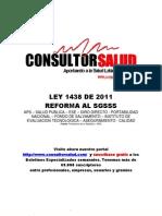 Ley 1438 de 2011 - Reforma El SGSSS[1]