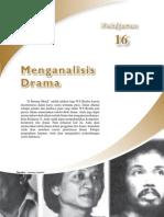Menganalisis Drama