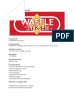 Waffle Time Franchise Package