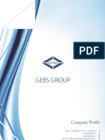 GEBS Group - Company Profile