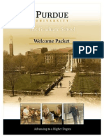 Welcome Packet 2011