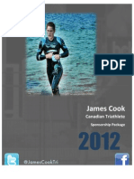 James Cook Sponsorship Package