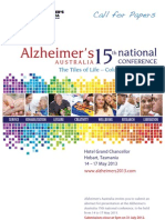 Alzheimers 2013 Call for Papers