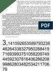 Curiozităţi despre π