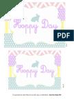 Hoppy Day Printable Set
