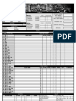 Earthdawn 3rd Edition Editable Character Sheet Ajfel Mordom