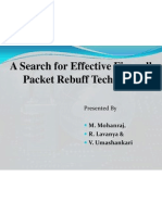A Search for Effective Firewall Packet Rebuff Technique