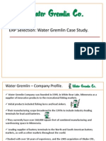 ISM Water Gremlin Case Presentation