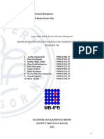 Matriks Komponen Sistem - PT Astra Otopart Div. Adiwira Plastik