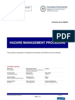 Hazard Management Procedure