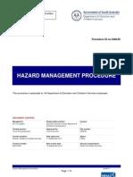 Hazard Management Procedure
