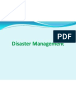 Disaster Management