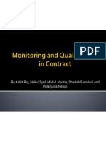 Monitoring and Quality