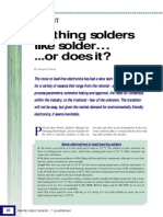 Nothing Solders Like Solder Printed Circuit Europe 2002