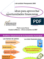 Presentacion de Finanzas Públicas Municipales