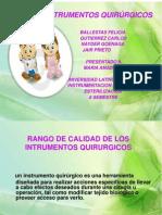 instrumental quirugico