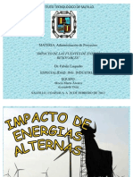 Desarrollo Sustentable.energias Alternas