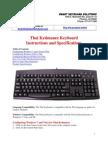 Thai Keyboard Guide