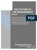 The Future of the Management (Santiago Gomez)