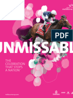 2013 Melbourne Cup Carnival Hospitality & Dining Packages brochure