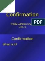Confirmation CurfConfirmation
