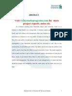 Cash Management Report