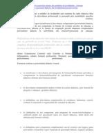 Planificarea dezvoltării resurselor umane ale unităților de învățământ